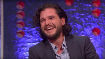 Someone thought it was funny: Kit Harington said he received a stern warning to never do it again