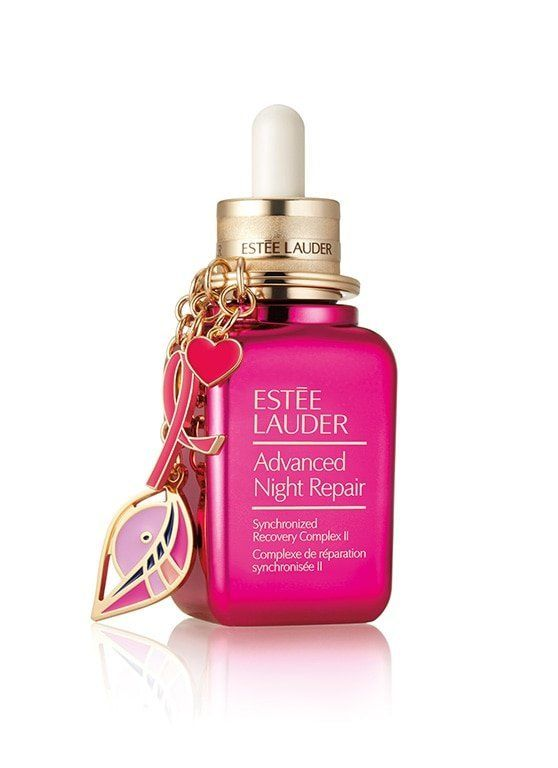 "This repair serum is donating 20% of each purchase to the Breast Cancer Research Foundation. Get it <a href=""https://www.este"