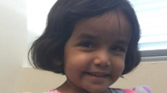 Sherin Mathews 3 has been missing since early Saturday morning