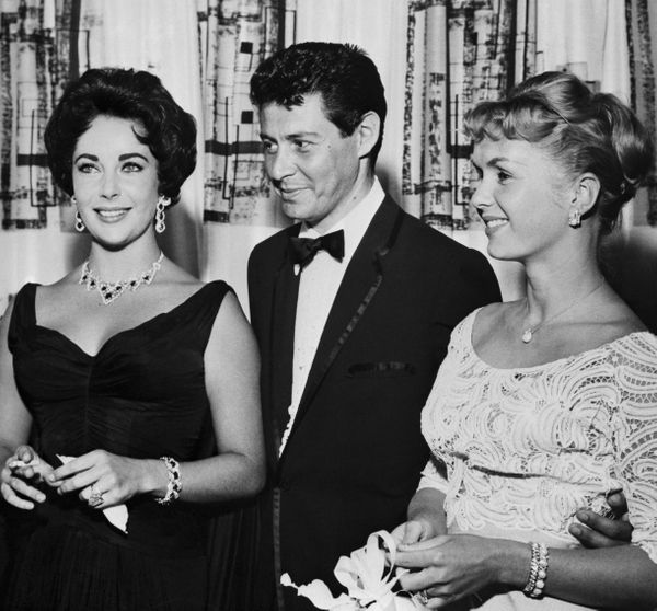 """Singer Eddie Fisher was married to<a href=""""http://www.foxnews.com/entertainment/2010/09/24/scandalous-love-triangle-tim"""