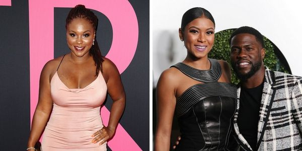 """Comedian <a href=""""https://www.huffingtonpost.com/topic/kevin-hart"""">Kevin Hart</a>'s current wife Eniko Hart and his ex-wife T"""