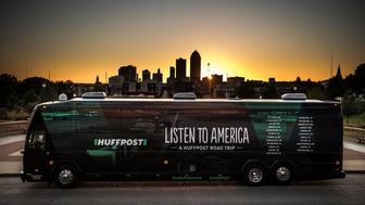"DES MOINES, IA - OCTOBER 9: HuffPost visits Des Moines, Iowa, on Oct. 9, 2017, as part of ""Listen To America: A HuffPost Road Trip."" The outlet will visit more than 20 cities on its tour across the country. (Photo by Damon Dahlen/HuffPost) *** Local Caption ***"