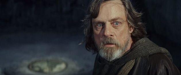 Luke Skywalker is scared by Rey's