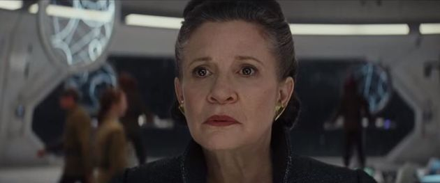 Carrie Fisher makes her final appearance as General