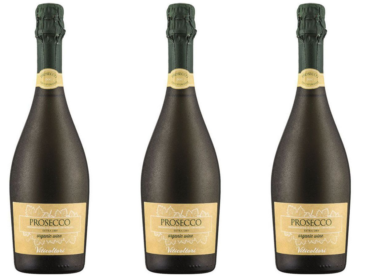 Lidl launches organic 'hangover free' prosecco