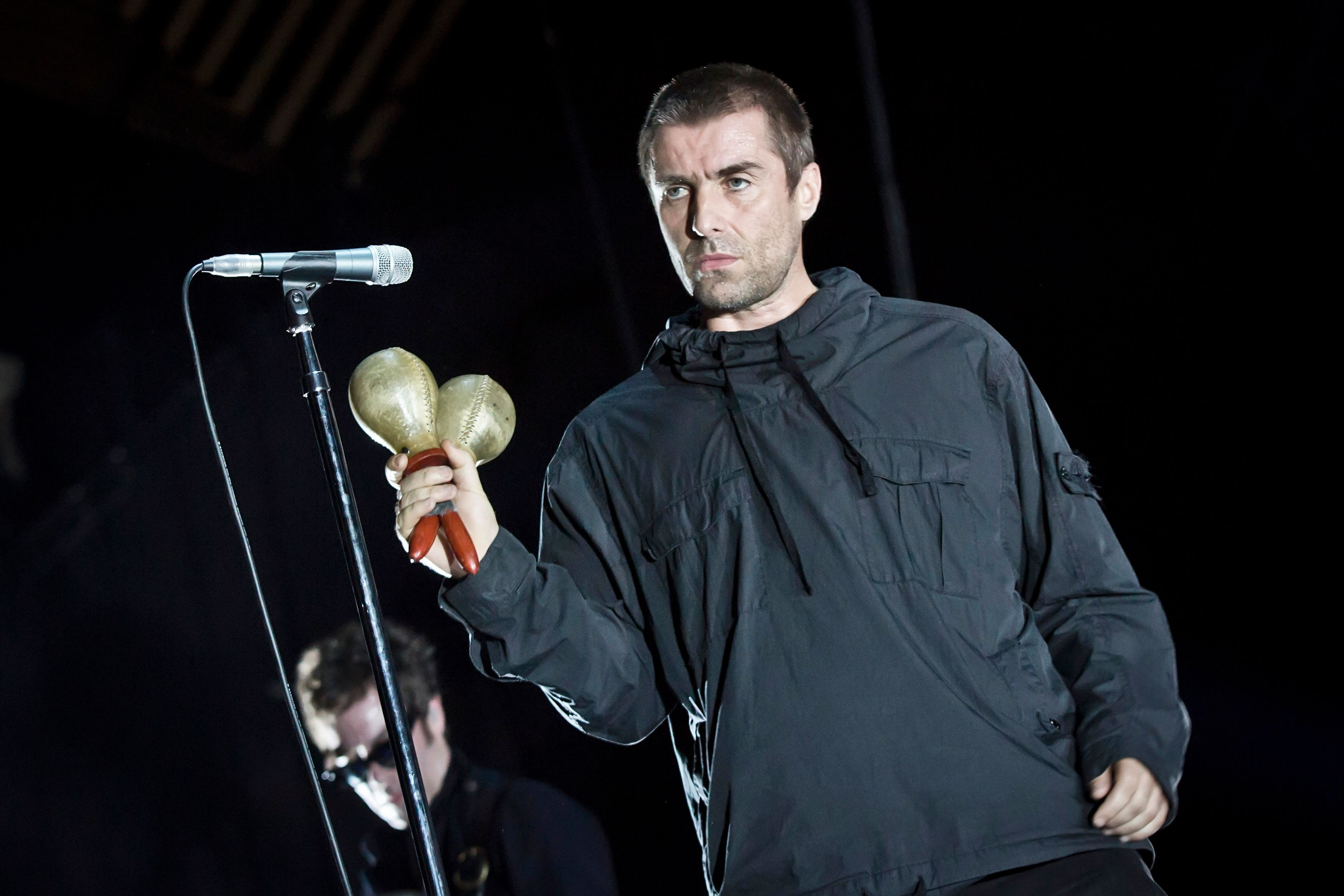 Liam Gallagher's change of heart: James Corden is a 'fine chap'