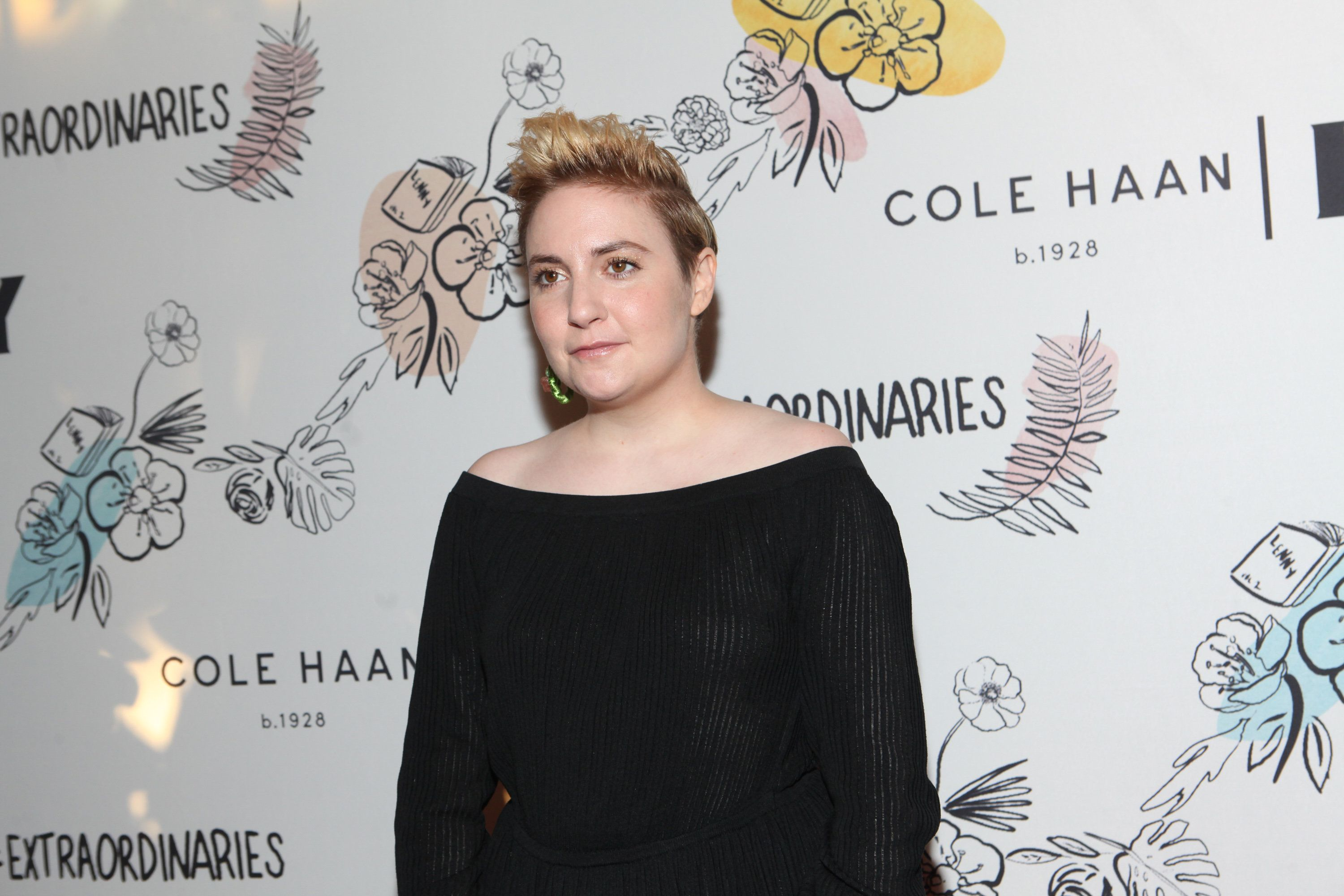 NEW YORK, NY - SEPTEMBER 15:  Actress Lena Dunham attends the 2nd Anniversary of Lenny, In Partnership with Cole Haan of Lenny at The Jane Hotel on September 15, 2017 in New York City.  (Photo by Steve Zak Photography/FilmMagic)