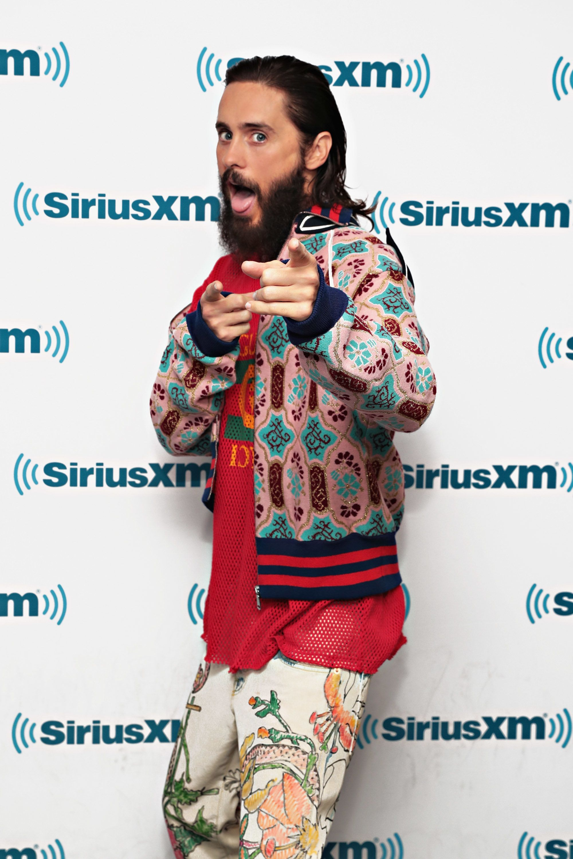 NEW YORK, NY - SEPTEMBER 27:  Actor Jared Leto visits the SiriusXM Studios on September 27, 2017 in New York City.  (Photo by Cindy Ord/Getty Images)
