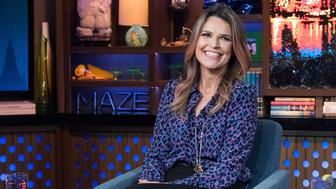 WATCH WHAT HAPPENS LIVE WITH ANDY COHEN -- Pictured: Savannah Guthrie -- (Photo by: Charles Sykes/Bravo/NBCU Photo Bank via Getty Images)