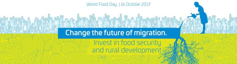 World Food Day is this October 16th, 2017