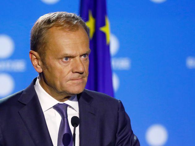 European Council President Donald