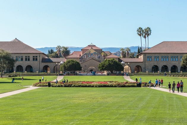 The Stanford University campus in