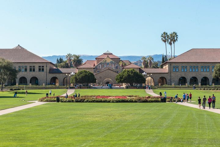 The Stanford University campus in California.