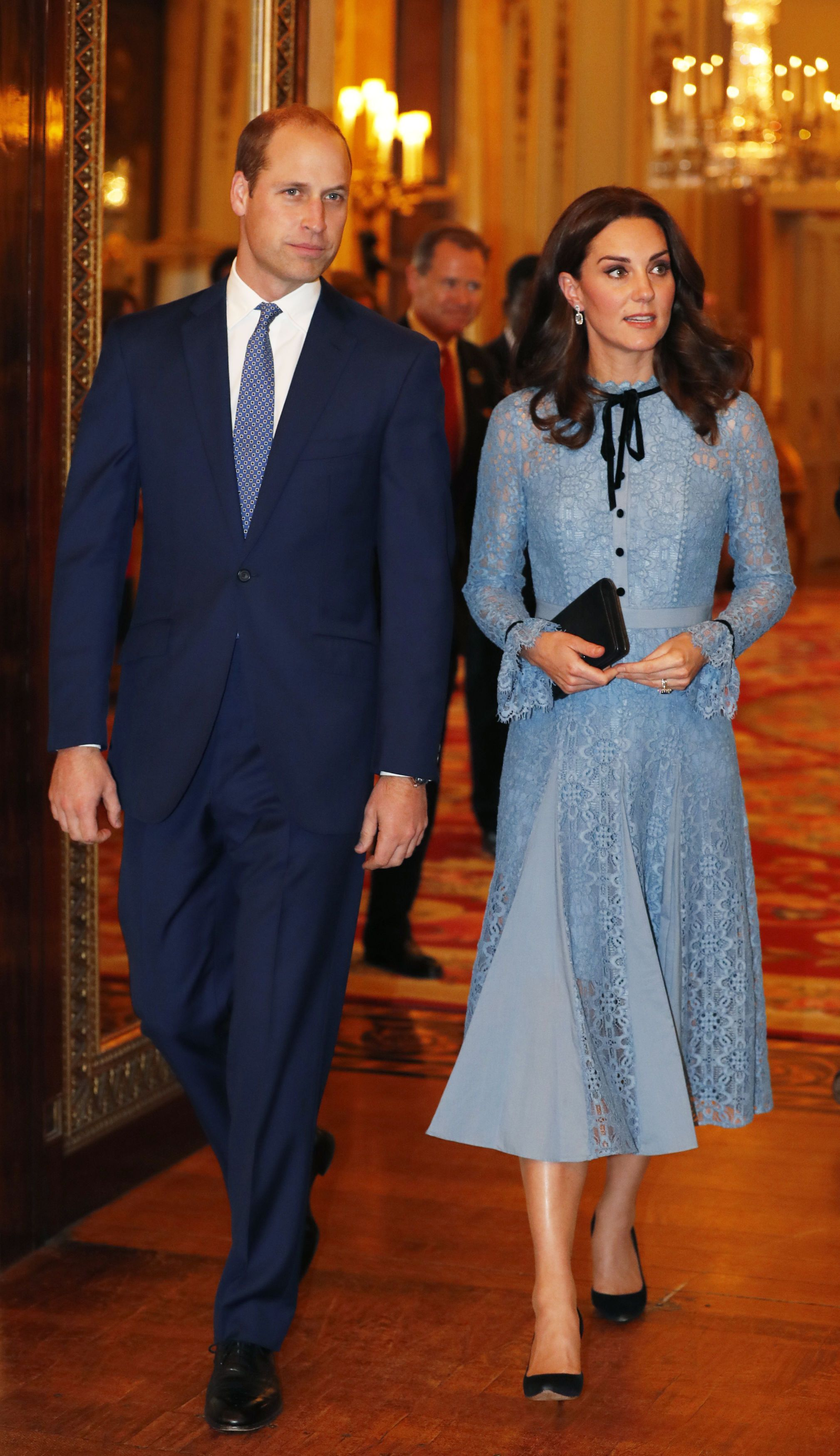Duchess Of Cambridge Makes First Public Appearance Since Announcing Third