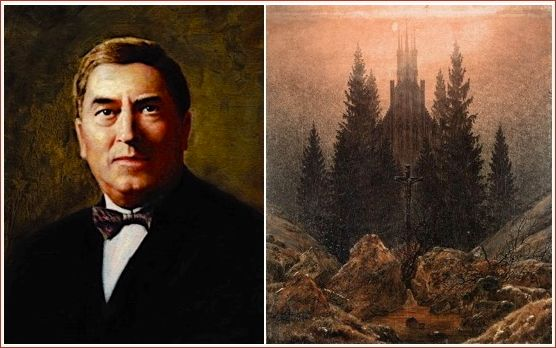 Maurice Duruflé (1902–1986) and <em>Cross and Church in the Mountains</em>, Caspar David Friedrich (1774–1840)