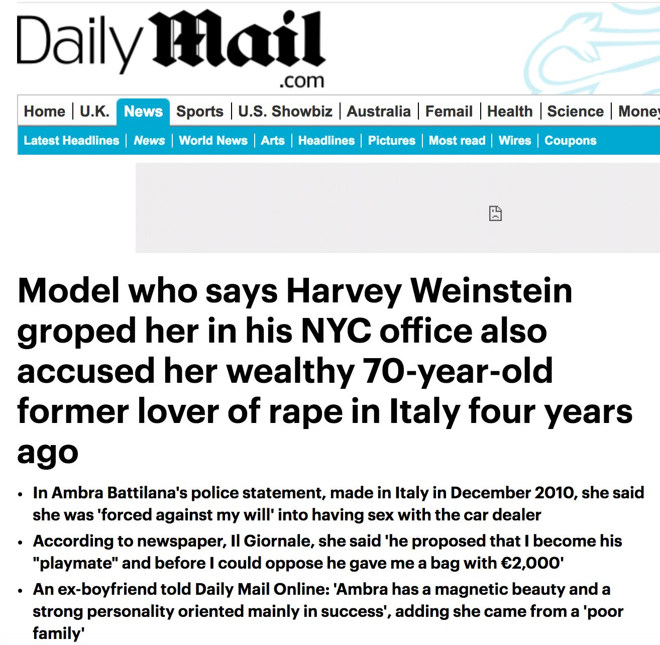 The Weinstein Company Knew About Harvey's Settlements With Victims For YEARS!