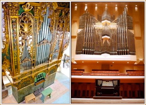 18th Century Baroque organ at Eastman and Ruffatti at Davies Symphony Hall
