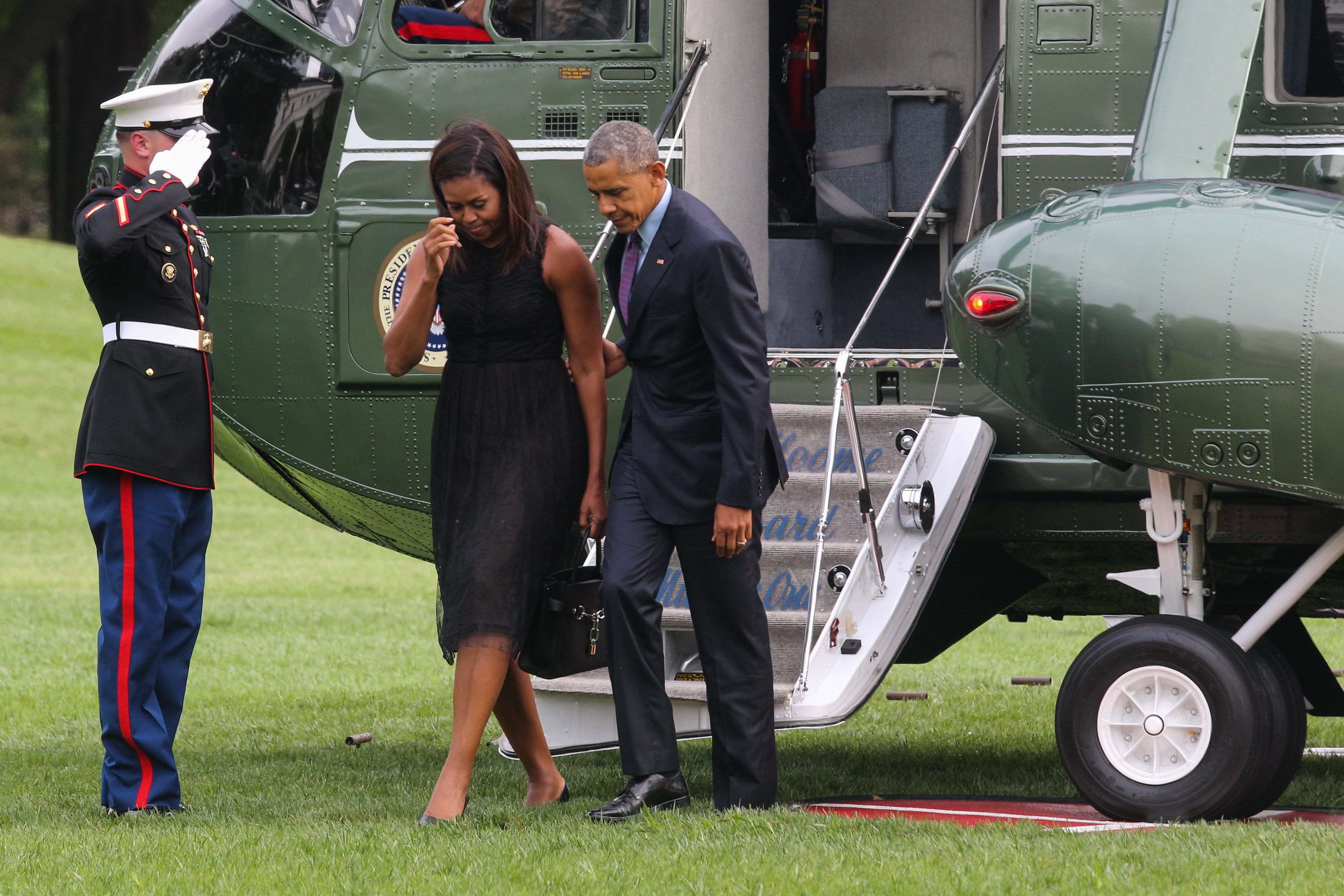 Obamas Now 'Disgusted' By Weinstein, After Daughter Malia Interned