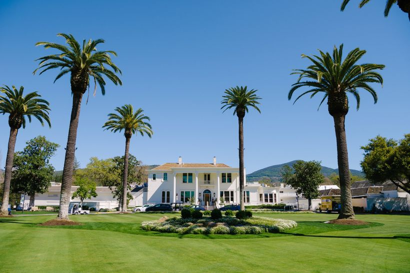 The weather was picture perfect for the start of the PGA Tour Safeway Open at the Silverado Resort and Spa
