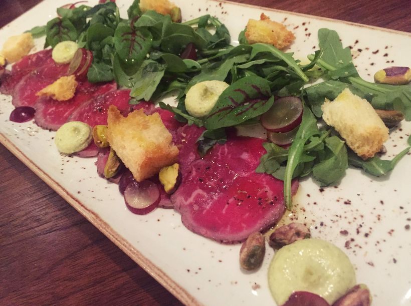 Colorful small plates at Outlook Kitchen and Bar