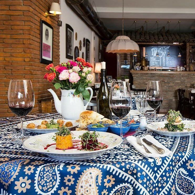 Georgian traditional dishes reinvented at Barbarestan restaurant