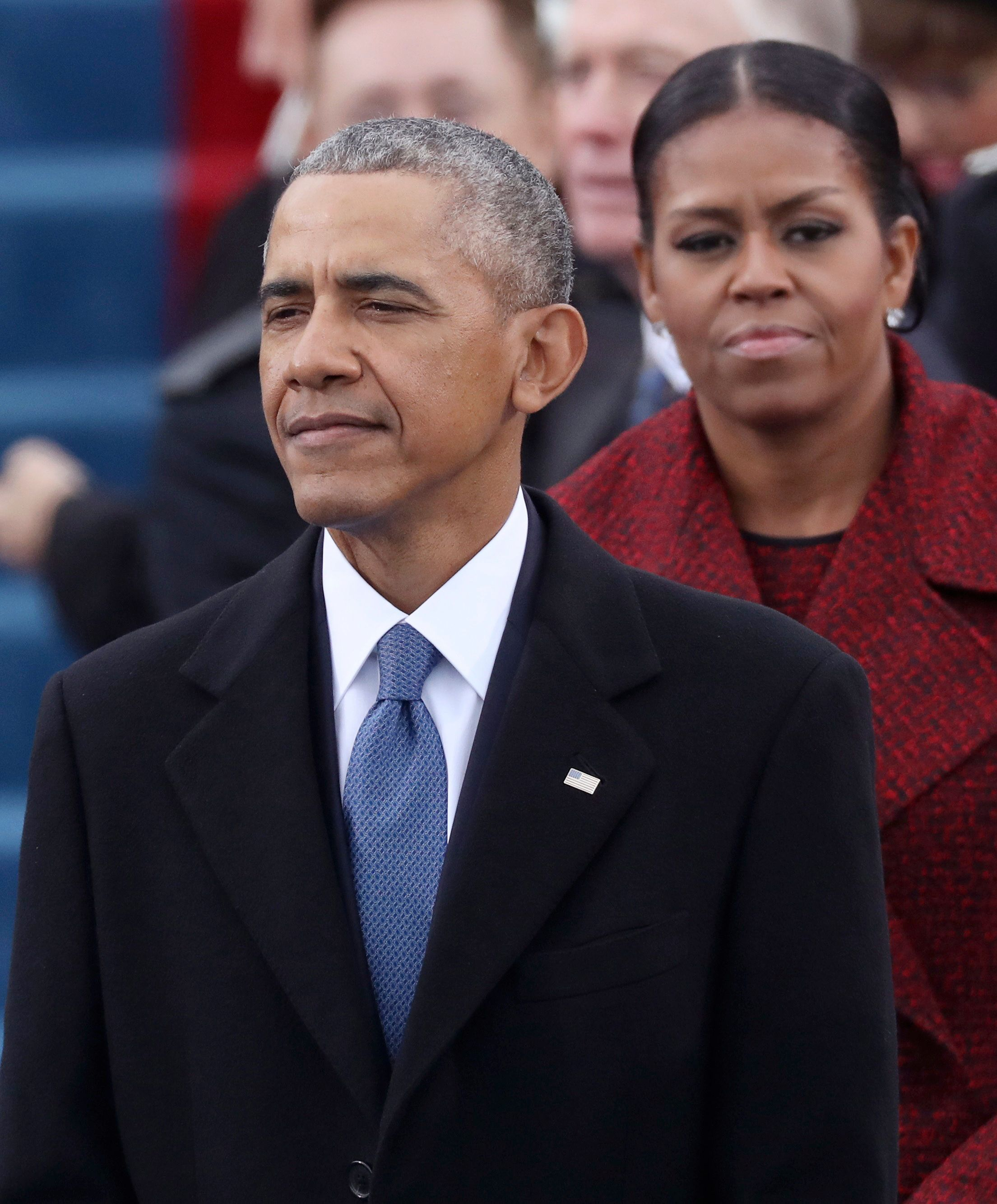 Former US President Barack Obama and Michelle Obama have said they are 'disgusted' about claims made...