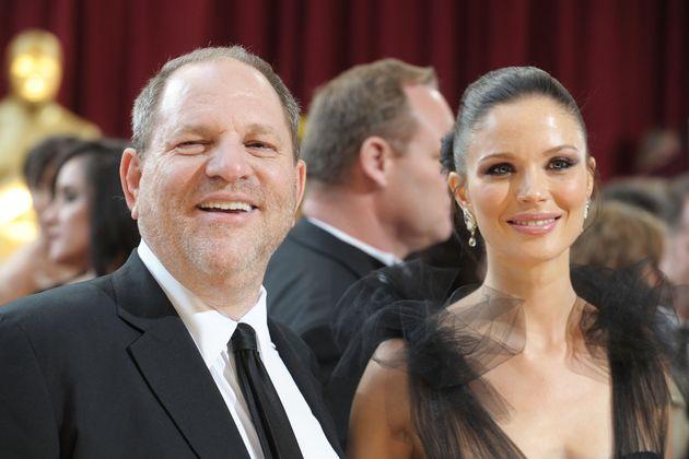 Weinstein's wife, Georgina Chapman, has said she is leaving him