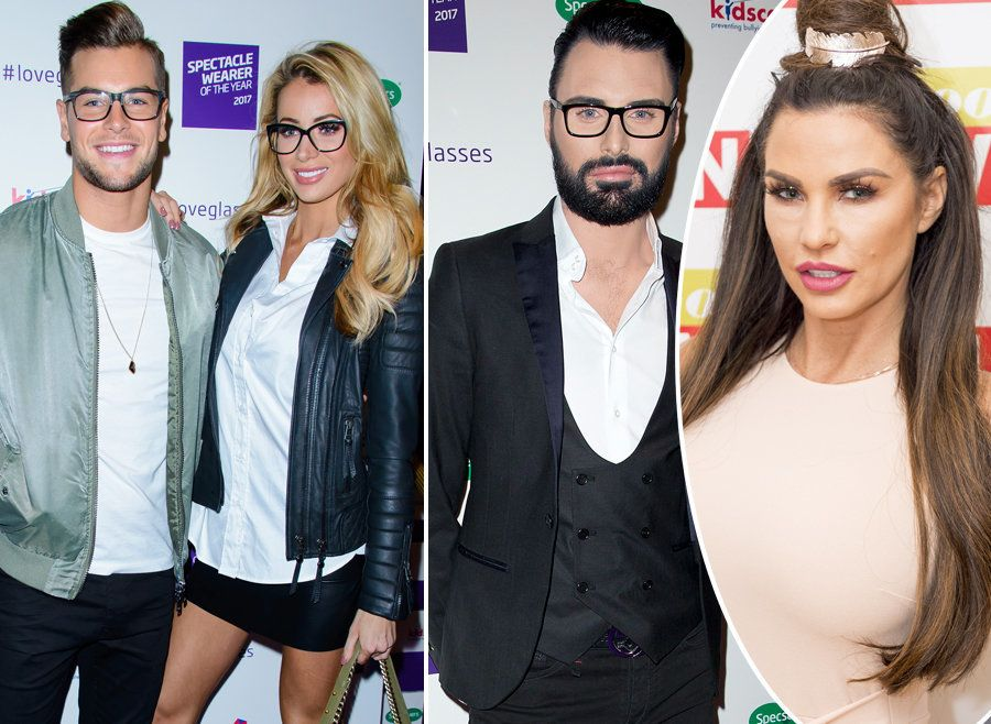 Chris Hughes And Rylan Laugh Off Claims Of Public 'Bust Up' Over Katie Price