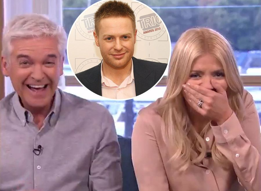 Holly Willoughby Has A Lot Of Trouble With with Tomasz Schafernaker​'s Name In Hilarious Unseen