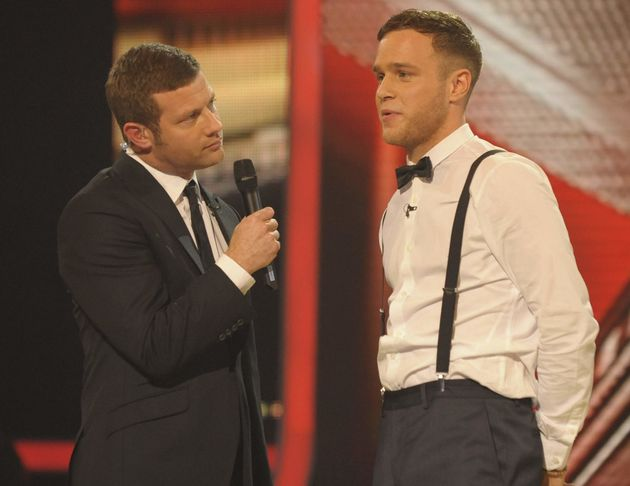 Olly finished second on 'X Factor' in