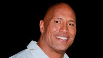 Dwayne Johnson is seen on the red carpet at the premiere of the film Baywatch in Miami Beach May 13, 2017. REUTERS/Andrew Innerarity