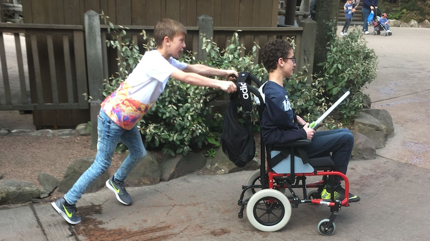 Why This 10-Year-Old Won A Courage Award For His Selfless Acts Of Love To Disabled Brothers