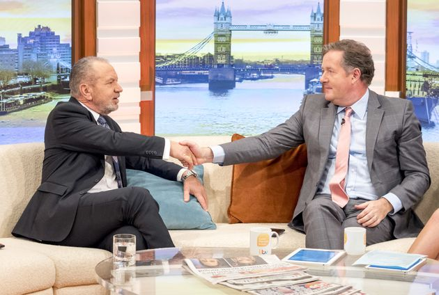 Lord Alan Sugar and Piers