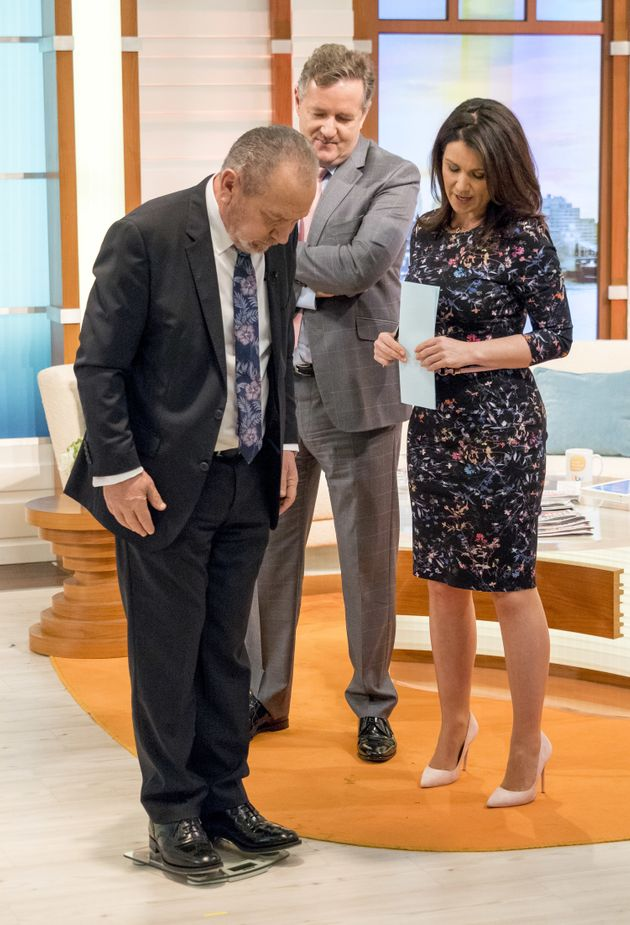 Piers Morgan Bets Rival Lord Alan Sugar £5K That He Can Lose More Weight Than Him In Lively 'Good Morning...