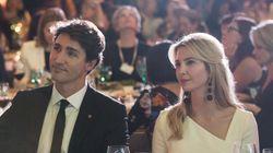 Ivanka Trump y Justin Trudeau siguen siendo