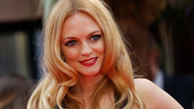 Heather Graham arrives for the European premiere of the film The Hangover Part III at the Empire Cinema in central London May 22, 2013. REUTERS/Luke MacGregor  (BRITAIN - Tags: ENTERTAINMENT)