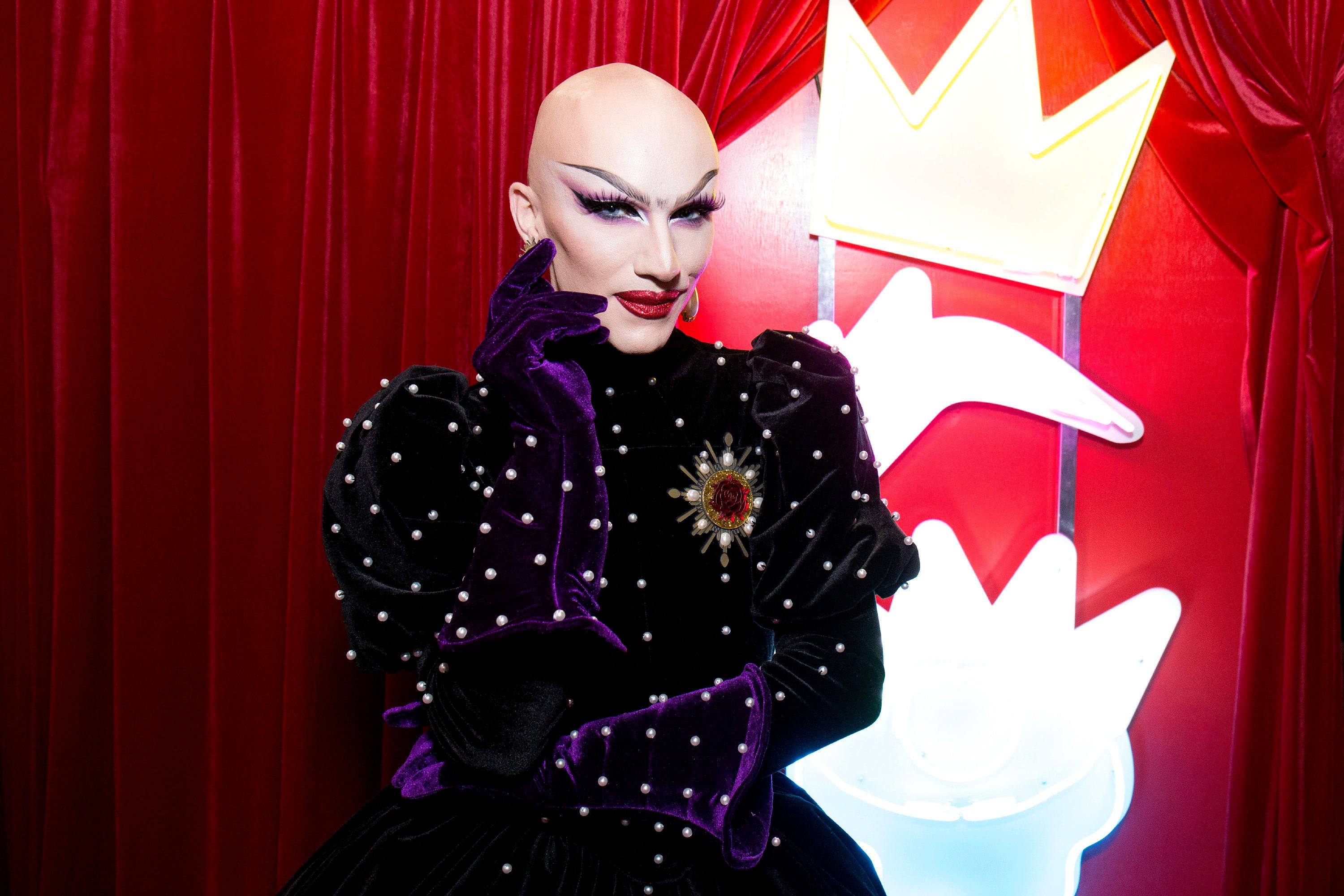 NEW YORK, NY - SEPTEMBER 09:  Sasha Velour attends RuPaul's DragCon NYC 2017 at The Jacob K. Javits Convention Center on September 9, 2017 in New York City.  (Photo by Santiago Felipe/Getty Images)
