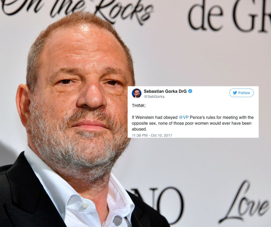 No, The Lesson Of Harvey Weinstein Isn't That Men Shouldn't Meet With