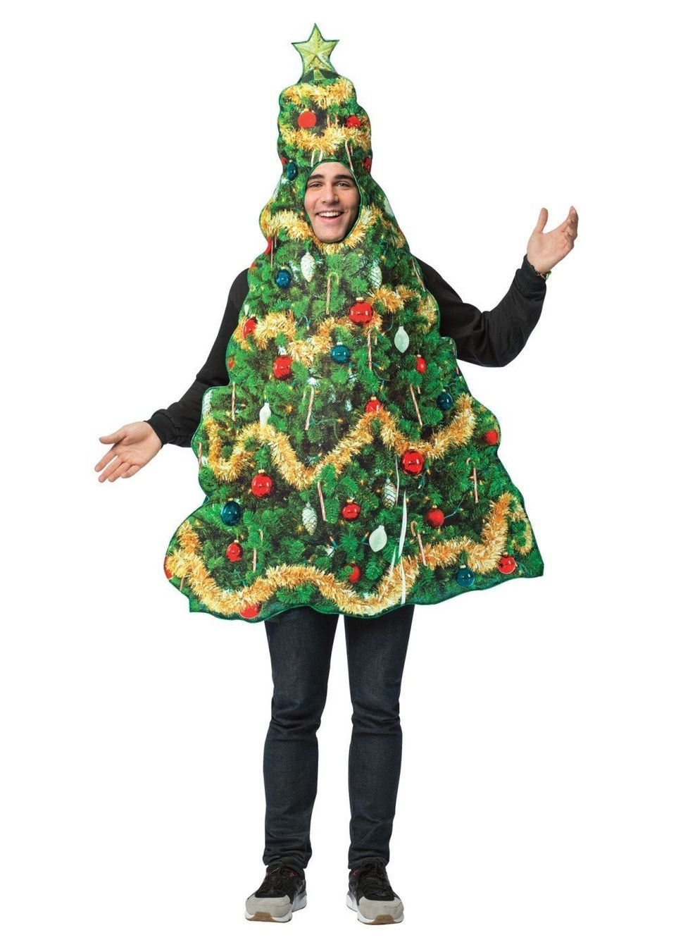 For some people, ugly Christmas sweaters aren't enough to express their enjoyment of the holiday season. So here's a&nbsp;<a