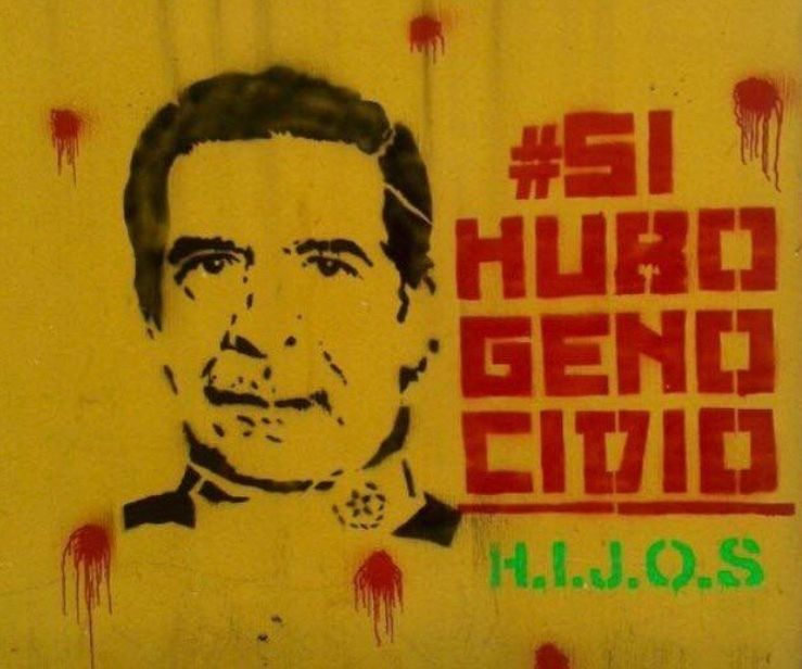 Grafitti, #YesThereWasGenocide. Guatemala City.
