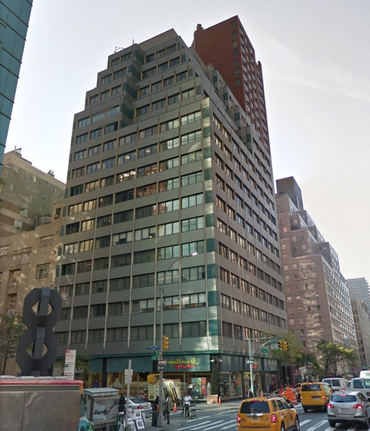 The Manhattan office building that hosts North Korea's Mission to the United Nations.