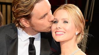 HOLLYWOOD, CA - MARCH 02:  Actors Dax Shepard and Kristen Bell attend the Oscars held at Hollywood & Highland Center on March 2, 2014 in Hollywood, California.  (Photo by Ethan Miller/WireImage)