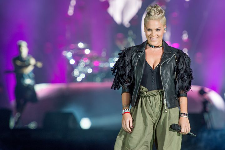 Pink Responds To Backlash Over Trump Tweets   HuffPost