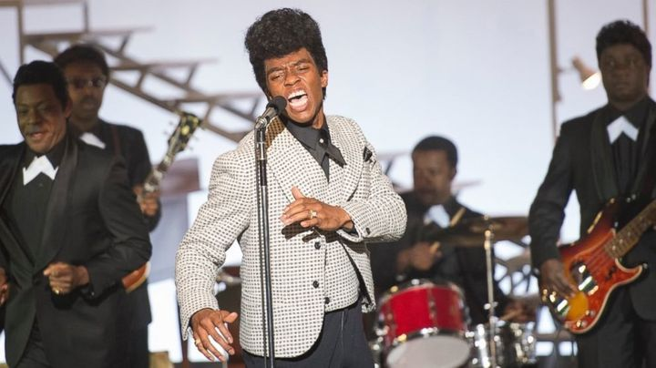 "Chadwick Boseman stars in ""Get On Up."""