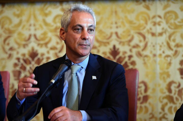 Chicago Mayor Rahm Emanuel has promised to reduce his city's carbon footprint.