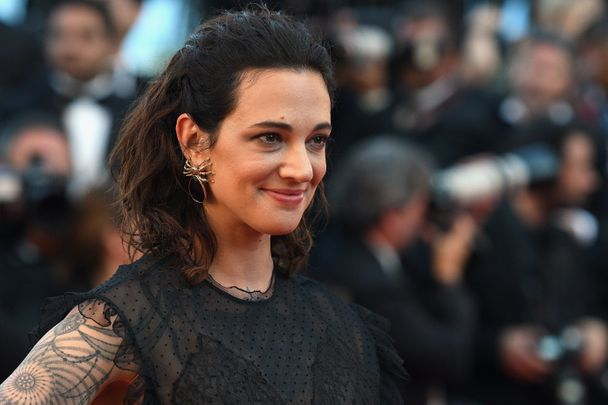CANNES, FRANCE - MAY 17:  Asia Argento attends the 'Ismael's Ghosts (Les Fantomes d'Ismael)' screening and Opening Gala during the 70th annual Cannes Film Festival at Palais des Festivals on May 17, 2017 in Cannes, France.  (Photo by Dominique Charriau/WireImage)