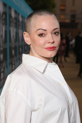 HOLLYWOOD, CALIFORNIA - MARCH 31:  Actress Rose McGowan attends the premiere of HBO Films' 'Confirmation' at Paramount Theater on the Paramount Studios lot on March 31, 2016 in Hollywood, California.  (Photo by Todd Williamson/Getty Images)