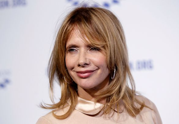 "Actress Rosanna Arquette arrives at The Clinton Foundation Gala in celebration of the organization's ""Decade of Difference"" in Los Angeles October 14, 2011. REUTERS/Danny Moloshok (UNITED STATES - Tags: ENTERTAINMENT HEADSHOT)"