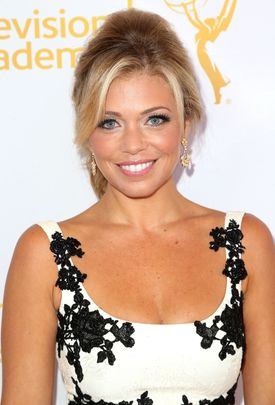 NORTH HOLLYWOOD, CA - JULY 26:  Television reporter Lauren Sivan attends the 66th Los Angeles Area Emmy Awards  at the Leonard H. Goldenson Theatre on July 26, 2014 in North Hollywood, California.  (Photo by Frederick M. Brown/Getty Images)