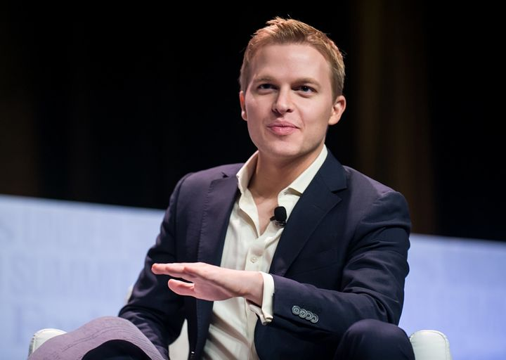 Ronan Farrow had reportedly been told by NBC News executives that he didn't have enough reporting to go on air wit